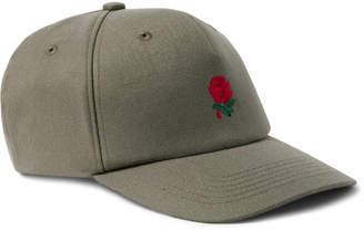 Undercover Embroidered Wool-Blend Twill Baseball Cap - Men - Green