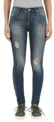 Articles of Society Sarah Hartford Cut-Off Hem Skinny Jeans