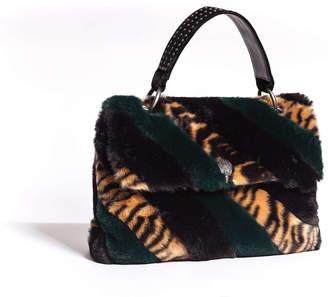 Kurt Geiger LONDON Faux Fur Lg Soho Bag
