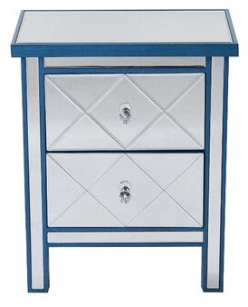 House of Hampton Lindel 2 Drawer Accent Chest House of Hampton