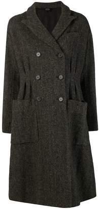 Aspesi cinched tweed coat