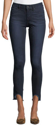 Articles of Society Stephanie Distressed Hem Skinny Jeans
