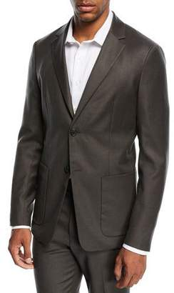 Theory Simons Tailored Flannel Suit Jacket