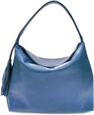 Annie Diamantidis Leather Iris Hobo Bag