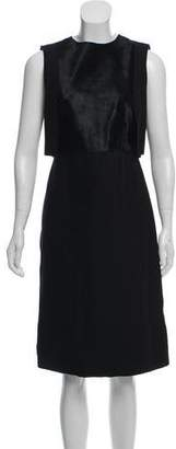 HUGO BOSS Boss by Sleeveless Midi Dress