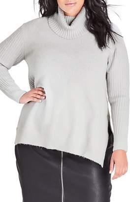 City Chic Turtleneck Sweater