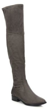Livi Dual Zip Over-The-Knee Boots $179 thestylecure.com