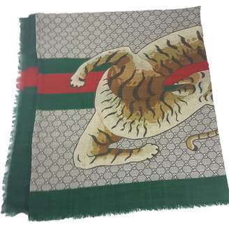 Gucci Multicolour Wool Scarves