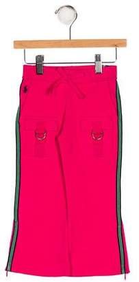 Ralph Lauren Girls' Stripe Four Pocket Pants w/ Tags