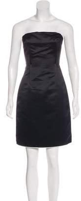 Dolce & Gabbana Strapless Knee-Length Dress