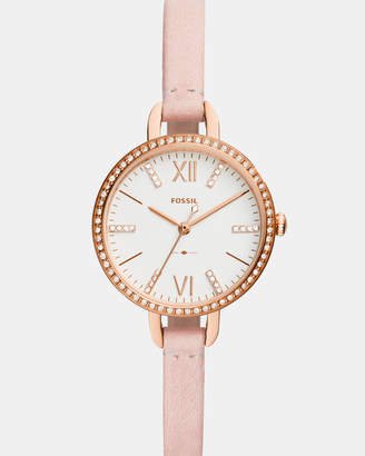 Fossil Annette Nude Analogue Watch
