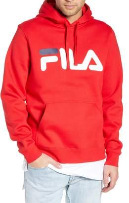 Fila Logo Graphic Hooded Sweatshirt