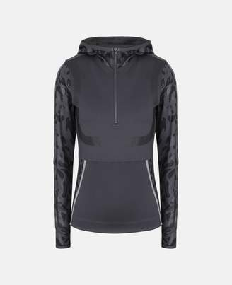 Stella McCartney Black Running Long-sleeve Hoodie, Women's