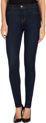 J Brand Maria High-Rise Super-Skinny Jeans, After Dark