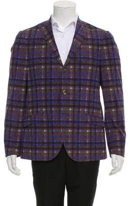 Etro Three-Button Printed Sport Coat