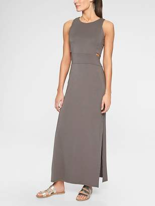 Athleta Cut Out Maxi Dress