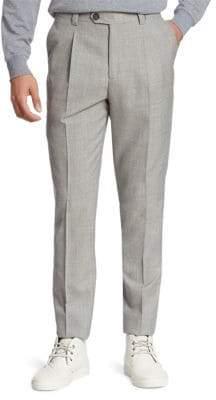 Brunello Cucinelli Slim-Fit Wool Pants