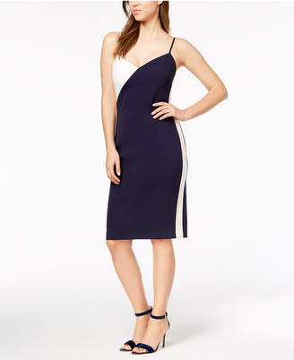 Vince Camuto Colorblocked Slip Dress