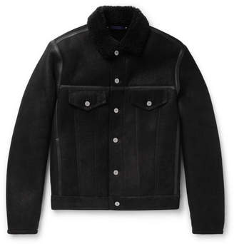 Paul Smith Shearling Trucker Jacket