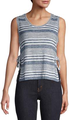 Lord & Taylor Design Lab Striped Tank Top