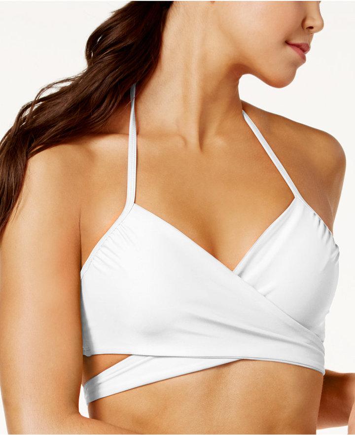 Sundazed Simone Bra-Sized Underwire Wrap Bikini Top, Only at Macy's