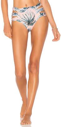 Tori Praver Swimwear Amalie High Leg Bikini Bottom
