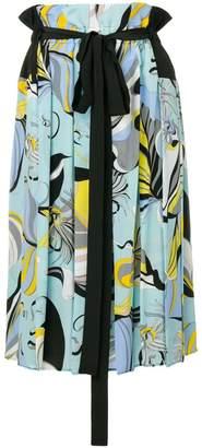 Emilio Pucci Frida Print Midi Skirt