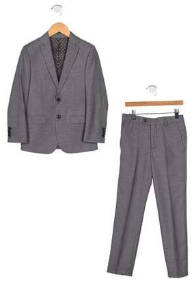 Isaac Mizrahi Boys' Wool-Blend Two-Piece Suit w/ Tags