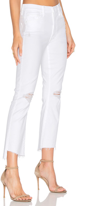 MOTHER The Insider Crop Step Fray $208 thestylecure.com