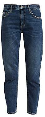 Current/Elliott Women's The Vintage Cropped Jeans