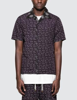 "SASQUATCHfabrix. Sensou"" Open Collar H/S Shirt"