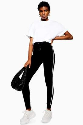 Topshop Womens Side Stripe Slim Joggers