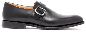 Church's Westbury Monk Strap Leather Shoes - Mens - Black