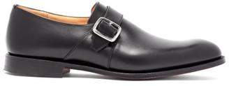 Church's Westbury Monk Strap Leather Shoes - Mens - Black