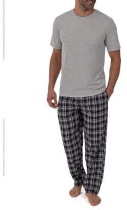 Fruit of the Loom Breathable Mesh Top Woven Pant Sleep Set