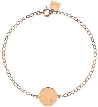 ginette_ny Mini Ever Diamond Disc Bracelet