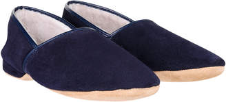 Derek Rose Men's Closed-Back Sheepskin Slipper