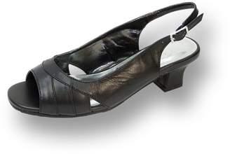 16a1ecf0def7 Peerage FIC Karen Women Extra Wide Width Heeled Sandal 7