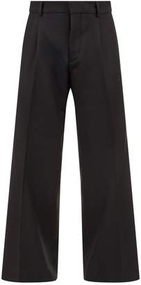 Burberry Diagonal Twill Trousers