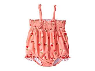 Janie and Jack Smocked One-Piece Swimsuit (Infant)