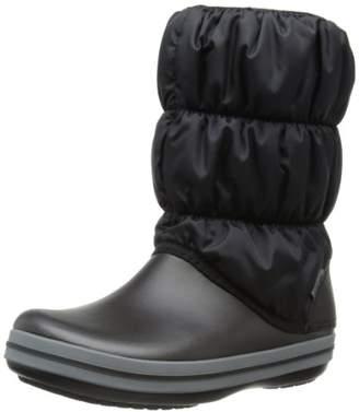 Crocs (クロックス) - [クロックス] ブーツ ウィンター パフブーツ レディース 14614 Black/Charcoal 23 cm