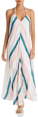 Vix Chimera Scarf Maxi Dress Swim Cover-Up