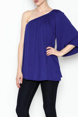 Hourglass Lilly One Shoulder Top