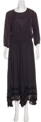 The Great Silk Maxi Dress