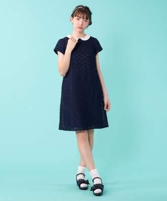 Kumikyoku (組曲) - 組曲KIDS 【150~170cm】フラワーレースドレス ワンピース