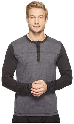 Prana Zylo Henley Men's Long Sleeve Pullover