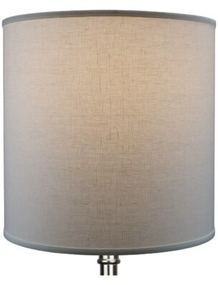 "Fenchel Shades 18"" Linen Drum Lamp Shade Fenchel Shades"