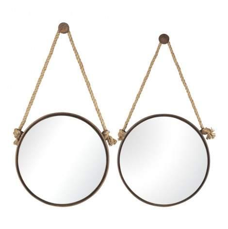 Wren Circle Mirrors (Set of 2)