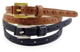 Fashion Focus Two-Piece Belt Set