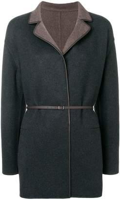 Loro Piana cashmere belted coat